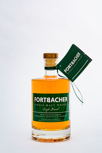 Fortbacher Single Malt Whisky, Fass No. 12, 60.5% vol., 0,5l