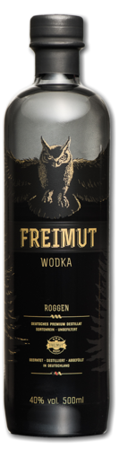 Freimut Wodka, 40%vol., 0,5l